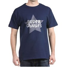 Super Charles Black T-Shirt