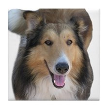 Southland Collie Rescue Gift Tile Coaster