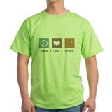 Peace Love Write T-Shirt
