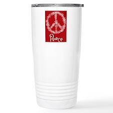 peace Stainless Steel Travel Mug