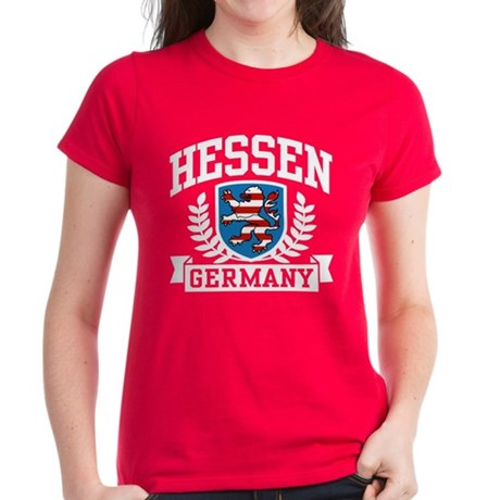 Hessen Germany Women's Dark T-Shirt