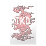 Taekwondo Dragon Sticker