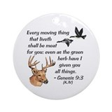 Gen9:3-KJV - Ornament