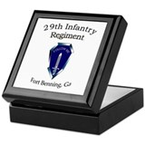 29th Infantry Regiment Keepsake Box