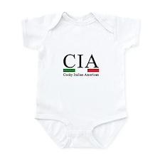 CIA - Cocky Italian American Infant Bodysuit