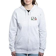CIA - Cocky Italian American Zipped Hoodie