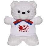 Valentine dots Teddy Bear
