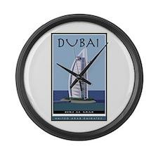 Dubai Large Wall Clock