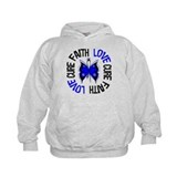 Colon Cancer Faith Hoodie