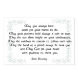 irish blessing (sq) Postcards (Package of 8)