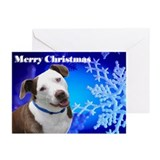 Blue Snow Greeting Cards (Pk of 10)