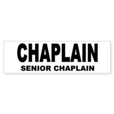 Bumper Sticker/SENIOR CHAPLAIN