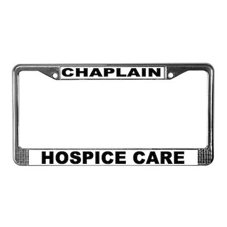 Hospice License Plate Frame