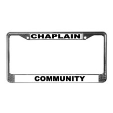 Community License Plate Frame