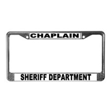 Sheriff Department License Plate Frame