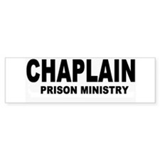 Chaplain Bumper Bumper Sticker