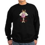 Little Angel Whimsy Design Sweatshirt (dark)