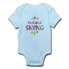 Skiing Infant Bodysuit