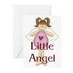 Little Angel Whimsy Design Greeting Cards (Pk of 2