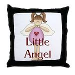 Little Angel Whimsy Design Throw Pillow