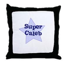 Super Caleb Throw Pillow