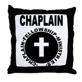 Cute Religion logo Throw Pillow