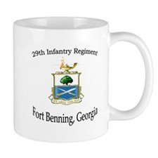 29th Inf Regiment crest mug Mugs