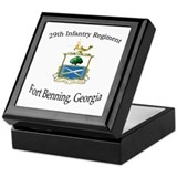 Unique Fort benning Keepsake Box