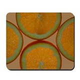 Orange Slices Mousepad