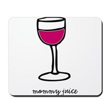 Unique Red wine Mousepad