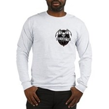 Disc Golfers Rule Long Sleeve T-Shirt