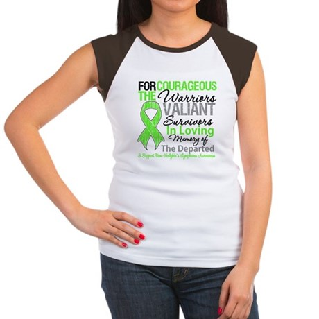 Tribute NH Lymphoma Women's Cap Sleeve T-Shirt