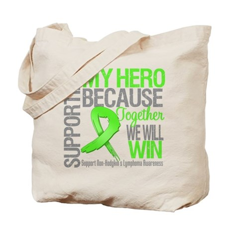 Hero NonHodgkinsLymphoma Tote Bag