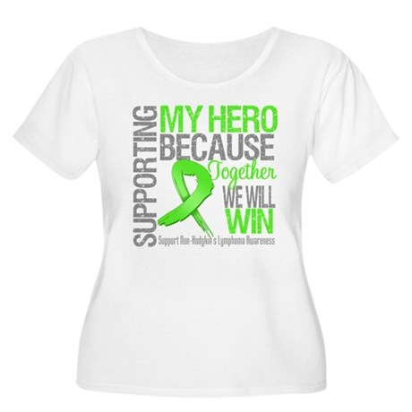 Hero NonHodgkinsLymphoma Women's Plus Size Scoop N