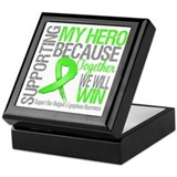 Hero NonHodgkinsLymphoma Keepsake Box