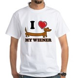 I love my Wiener Shirt