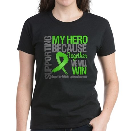 Hero NonHodgkins Lymphoma Women's Dark T-Shirt