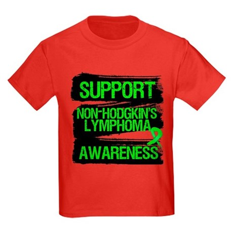 Support Non-Hodgkin's Kids Dark T-Shirt