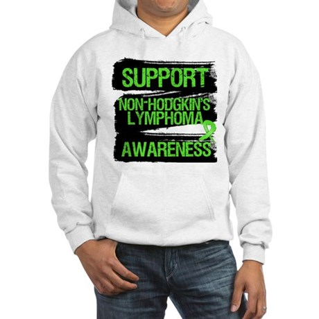 Support Non-Hodgkin's Hooded Sweatshirt