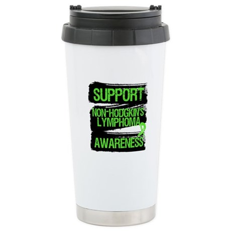 Support Non-Hodgkin's Ceramic Travel Mug