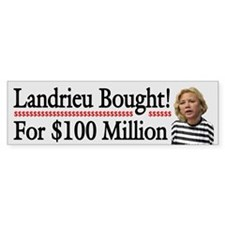 Landrieu Bought!