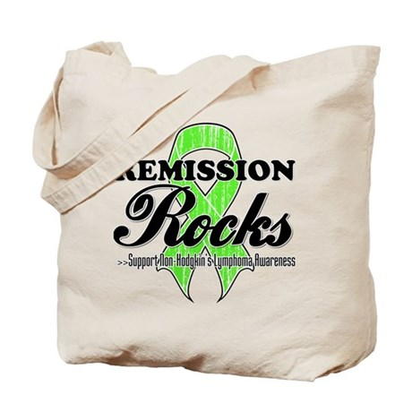 NonHodgkins RemissionRocks Tote Bag