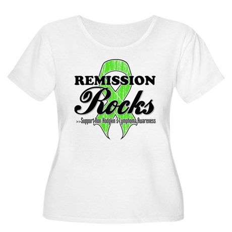 NonHodgkins RemissionRocks Women's Plus Size Scoop