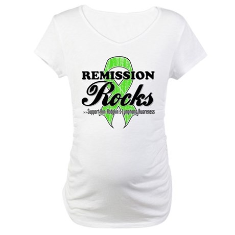 NonHodgkins RemissionRocks Maternity T-Shirt