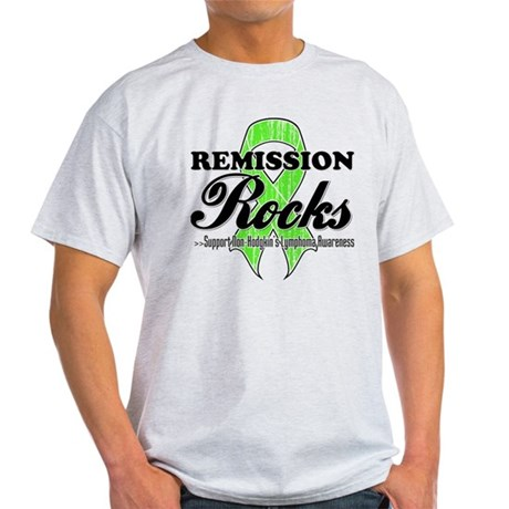 NonHodgkins RemissionRocks Light T-Shirt