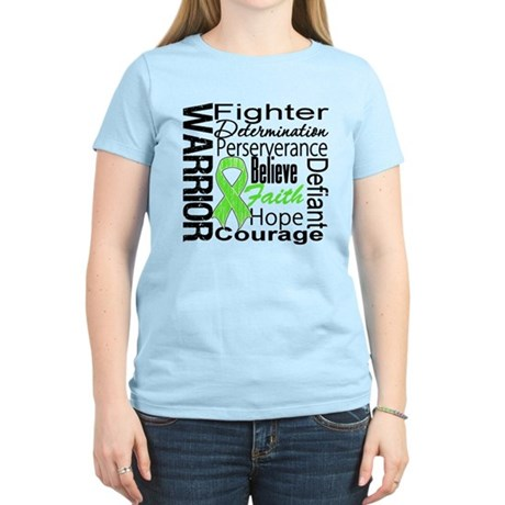 Non-Hodgkins Warrior Women's Light T-Shirt