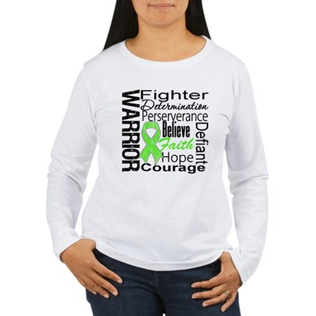 Non-Hodgkins Warrior Women's Long Sleeve T-Shirt