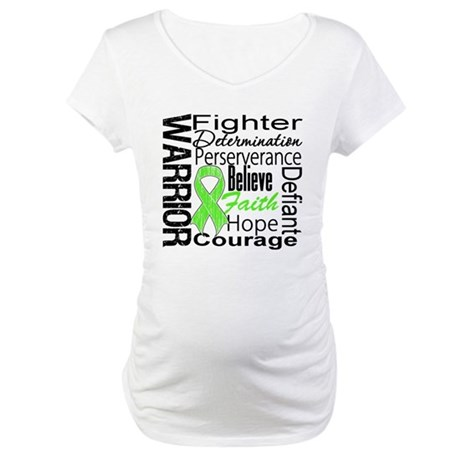Non-Hodgkins Warrior Maternity T-Shirt