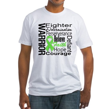 Non-Hodgkins Warrior Fitted T-Shirt