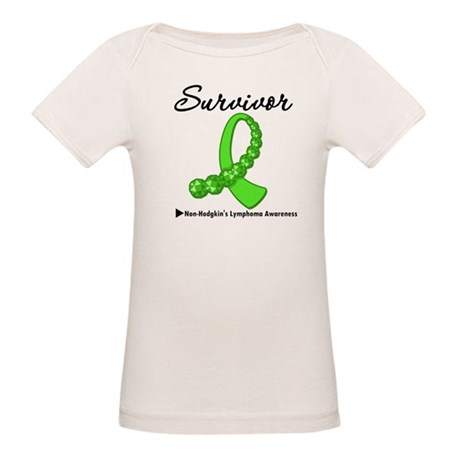NonHodgkinsSurvivorRibbon Organic Baby T-Shirt